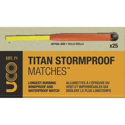 Uco Titan Stormproof Matches 25pk