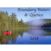 Boundary Waters and Quetico 2018 Calendar