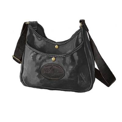 Frost River Crescent Lake Small Handbag Black Heritage Collection