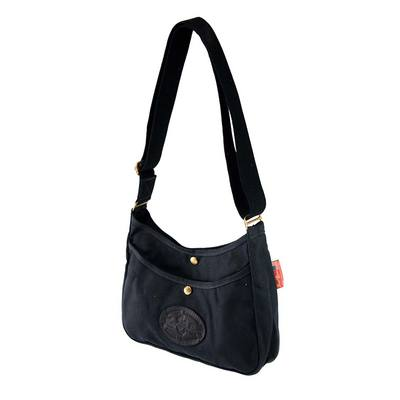 Frost River Crescent Lake Large Handbag Black Heritage Collection