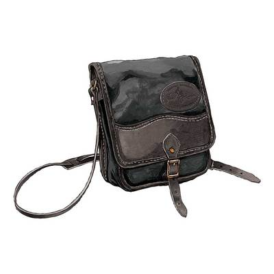 Frost River Field Satchel Black Heritage Collection