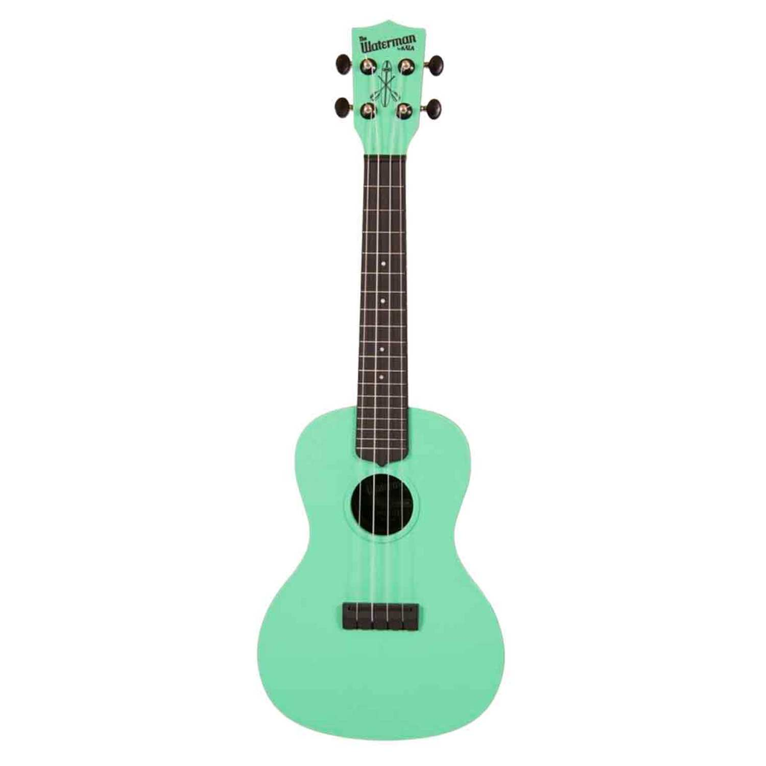 concert waterman green ukulele by kala brand boundary waters catalog. Black Bedroom Furniture Sets. Home Design Ideas