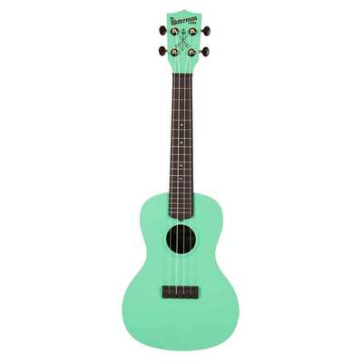Waterman Concert Ukulele Green