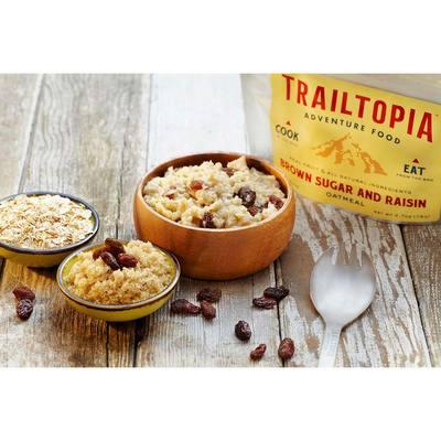 Trailtopia Brown Sugar Raisin Oatmeal