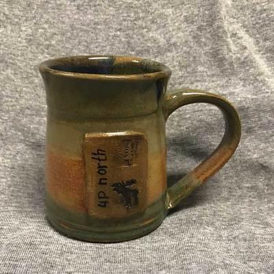 Up North Moose Mug