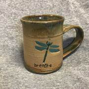 Dragonfly Mug With Breath 14oz