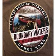Wilderness Canoe Tee