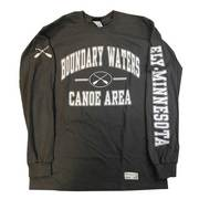 BWCA Crossed Paddles Long Sleeve Tee