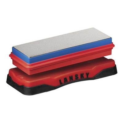 Lansky Double Sided Bench Sharpening Stone Coarse- Fine