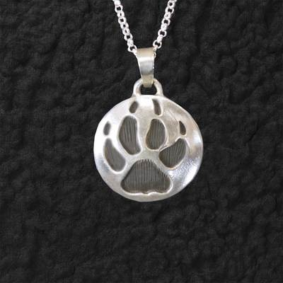 Wolf Track Pendant