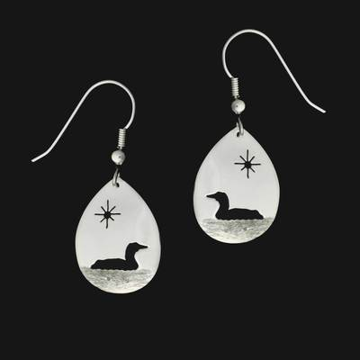 Loon Under Sun Earrings