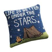 LIFE IS BETTER UNDER THE STAR PILLOW
