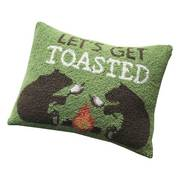 Let's get Toasted Hook Pillow