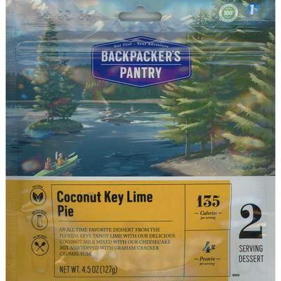 Coconut Key Lime Pie 2 Serve