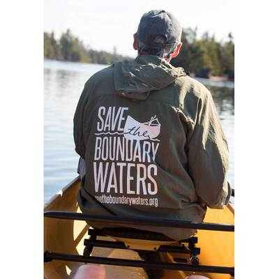 Save The Boundary Waters Piragis Wind Shirt