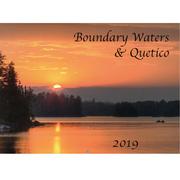 Boundary Waters Quetico 2019 Calendar