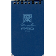 Pocket Top Spiral Notebook Blue 3x5
