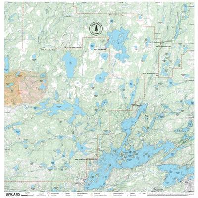 True North Maps Cloth Map 05