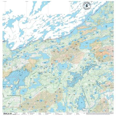 True North Maps Cloth Map 09