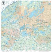 True North Maps Cloth Map 11