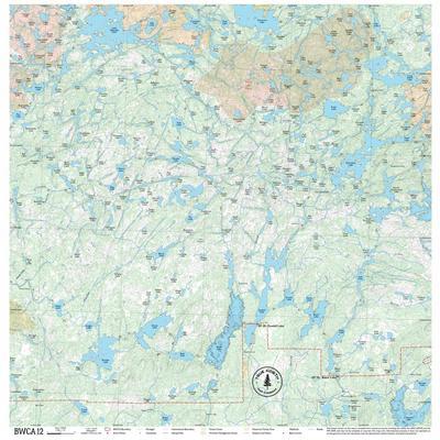 True North Maps Cloth Map 12