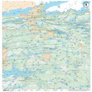 True North Maps Cloth Map 15