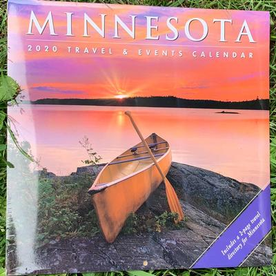 Minnesota Travel And Events Wall 2020 Calendar