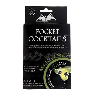 Barcountry Coconut Lime Margarita Pocket Cocktail Mix 4 Pack