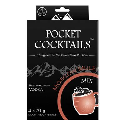 Barcountry Elderflower Moscow Mule Pocket Cocktail Mix 4 Pack