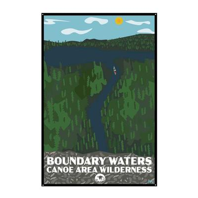 Bwcaw Piragis Tin Sign 12x18