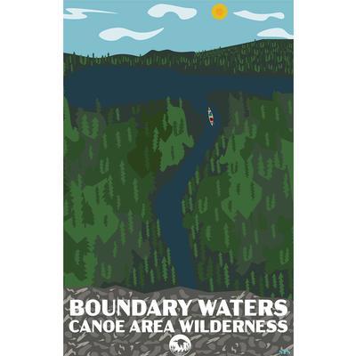 Bwcaw Piragis Poster Print 11x17