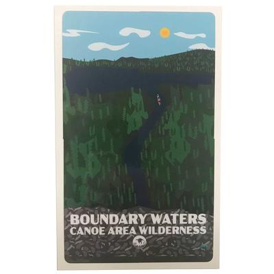Bwcaw Boundary Waters Sticker 3x5