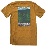 BWCAW Boundary Waters Art Piragis Tee Shirt