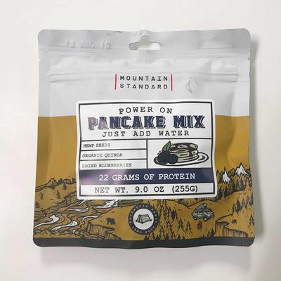 Mountain Standard Power On Protein Pancakes