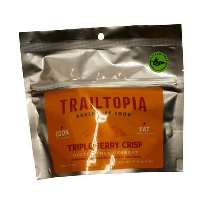 Trailtopia Gluten Free Triple Berry Crisp