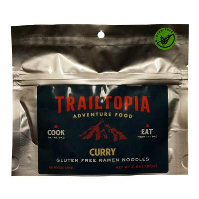 Trailtopia Gluten Free Ramen Noodles - Curry