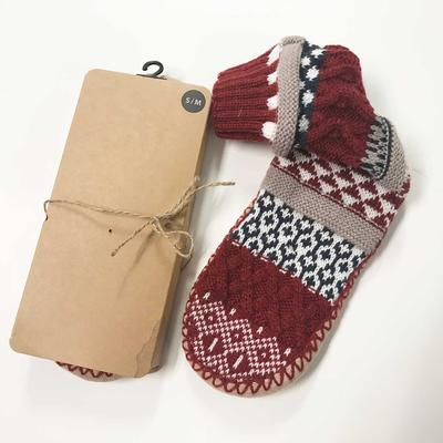 Nordic Knit Slippers
