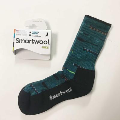 Women's Canoe Print Hike Socks