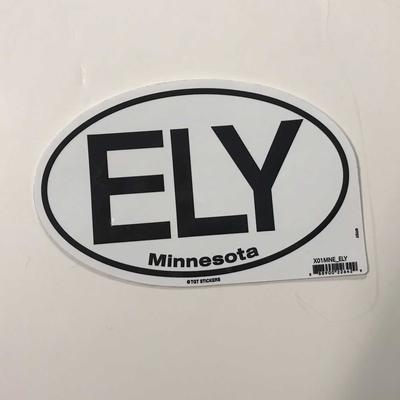 Ely Oval Sticker