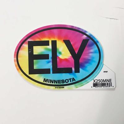 Tie Dye Ely Sticker