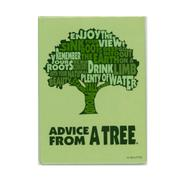 Advice from a Tree Outline Magnet