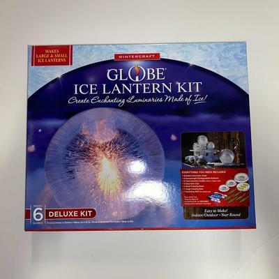 Globe Ice Lantern Deluxe Kit
