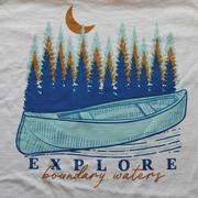 Explore Blue Canoe Tee
