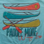 Paddle More Tee