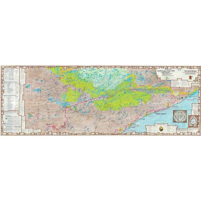 Myrmel Maps Map 7 North Country Trail Arrowhead Trail Map