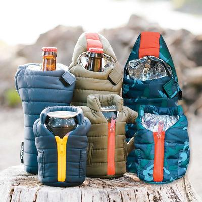 Puffin Beverage Puffy Vest Cooler