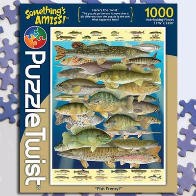 Fish Frenzy 1000 Piece Puzzle