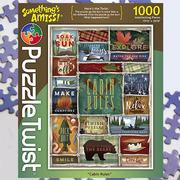 Cabin Rules 1000 Piece Puzzle