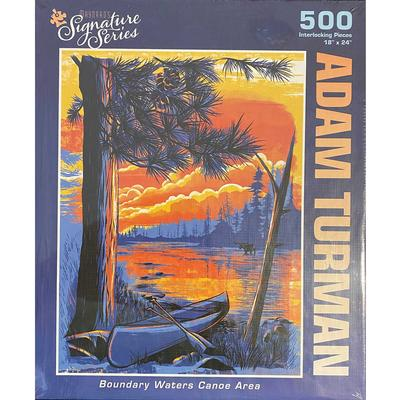 Boundary Waters Canoe Area 500 Piece Puzzle