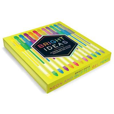 Bright Idea Neon And Glitter Gel Pens